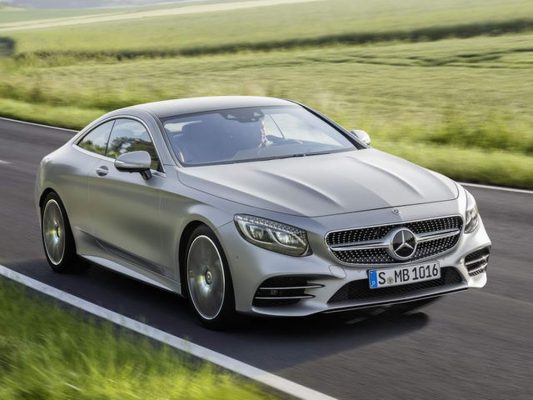 11. Mercedes-Benz S-class Coupe
