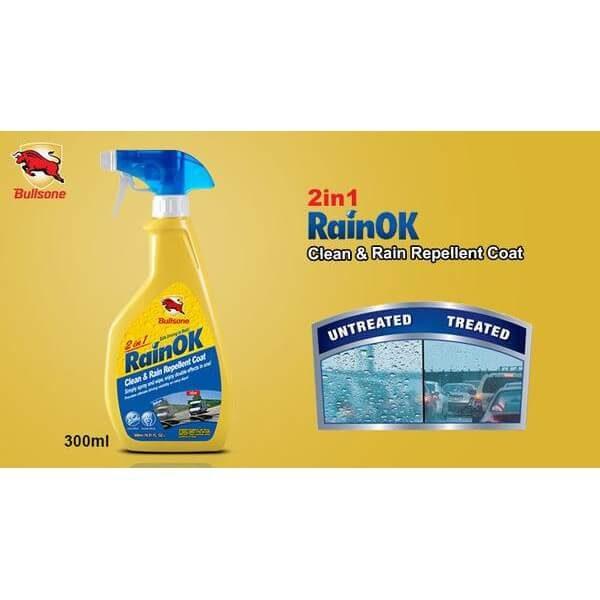 Bán bình nước vệ sinh kính chống bám mưa 2 in 1 Bullsone (1)