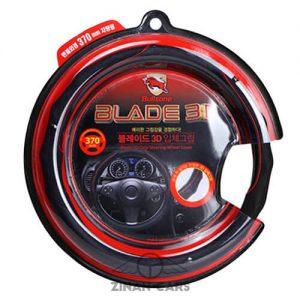 Bán bao tay lái cao cấp Bullsone màu đen & đỏ cho xe hơi (2)