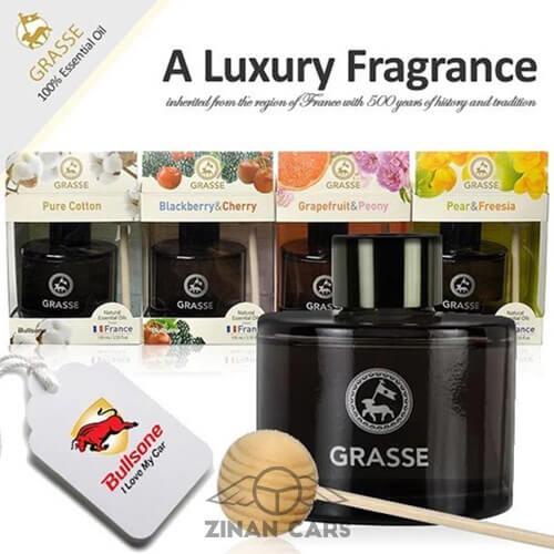 Nước hoa Bullsone Grasse nhiều mùi hương cao cấp ô tô (5)